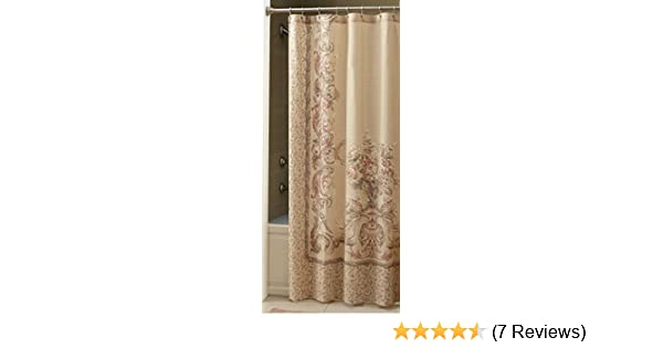 Amazon Croscill Normandy Shower Curtain 70 Inch By 72 Natural Home Kitchen