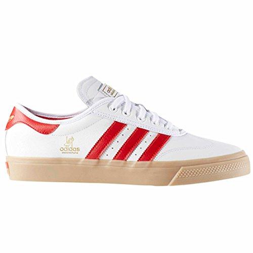 Adidas Original Zapatillas ADI EASE UNIVERS Blanca/Rojo (37 1/3)