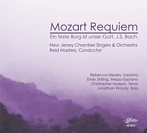 Mozart: Requiem, K. 626; Bach: Ein Feste Burg ist unser Gott, BWV 80 ()