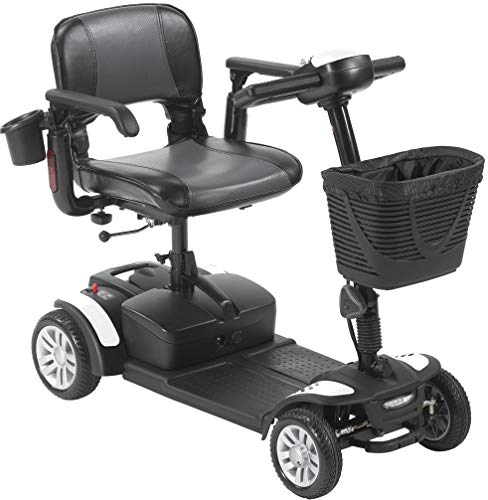 Amazon Com Drive Medical Spitfire Ex2 4 Wheel Travel Scooter