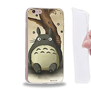 "Case88 TPU Designs My Neighbor Totoro 0665 Funda de gel TPU para Apple iPhone 6 / 6s Plus (5.5"")"