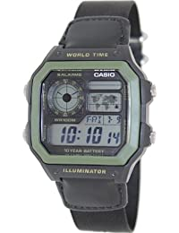 5f64544dd8009 Relógio Masculino Digital Casio AE1200WHB1BVDF - Preto