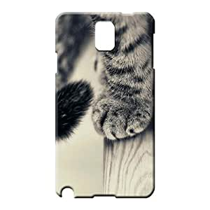 samsung note 3 Impact Plastic fashion phone back shells animals cats cat paws