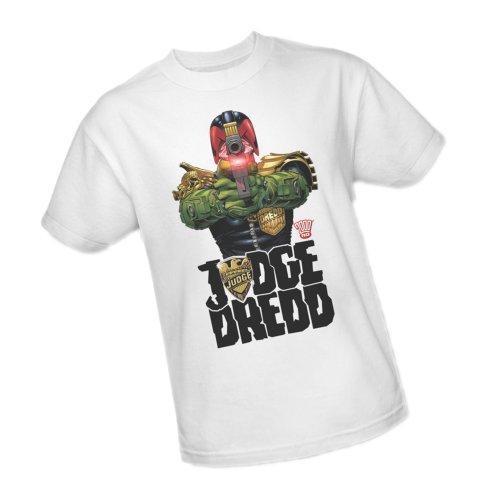 In My Sights -- Judge Dredd Adult T-Shirt, Large