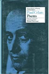 Paul Celan: Poems (English and German Edition) Hardcover