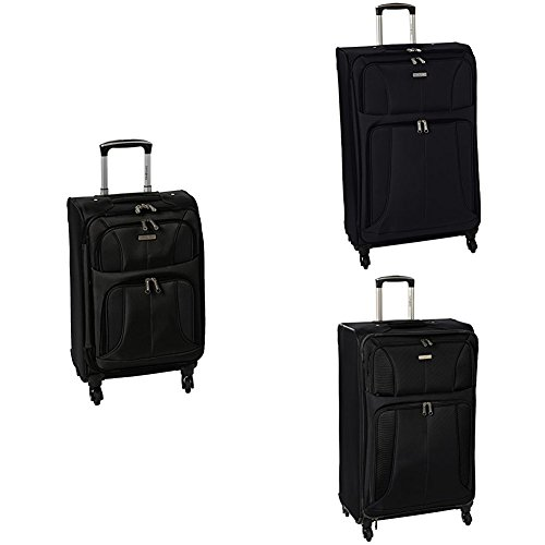 Samsonite Aspire Xlite Three Piece Spinner Set  20  25  29    Black