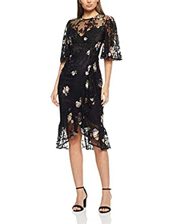 Cooper St Women's Myrtle Short Sleeve Lace Dress, Black, 10