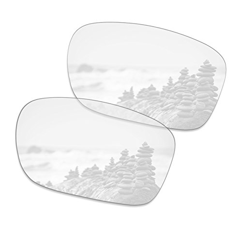 SmartVLT Men's HD Clear Replacement Lenses for Oakley Holbrook - Clear Holbrook
