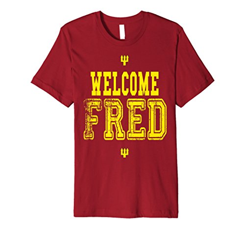 - Soccer Fan T Shirt Red Manchester Edition - Welcome Fred
