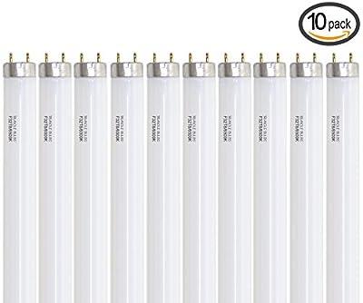 """(Case of 10) F32T8/SPX65 DAYLIGHT Linear Fluorescent 32-Watt T8 FO32 865 Light Bulbs 48"""""""
