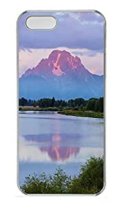 iPhone 5 5S Case Landscapes Mountain Lake 1 PC Custom iPhone 5 5S Case Cover Transparent by Maris's Diary