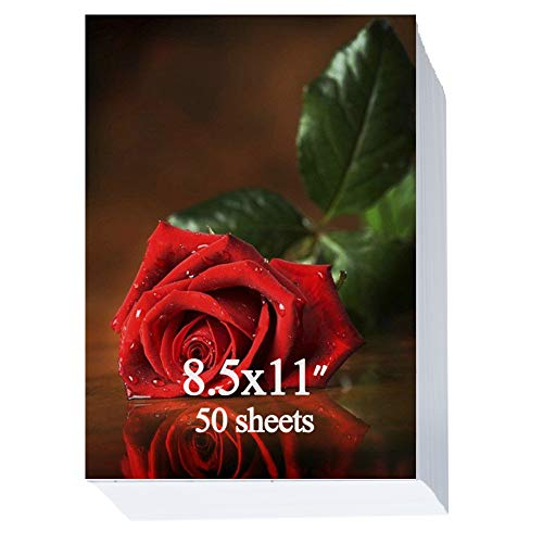 Glossy Photo Paper 8.5x11 inch 200gsm 50 Sheets