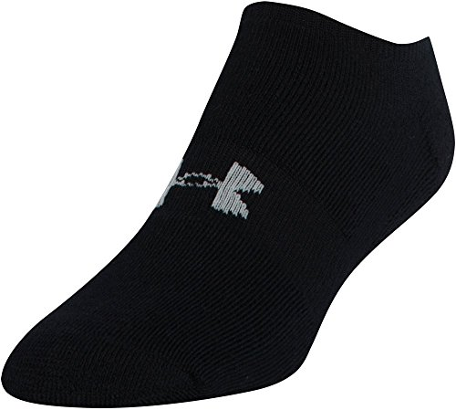 Under Armour Men's HeatGear Solo No Show Socks (3 Pairs)