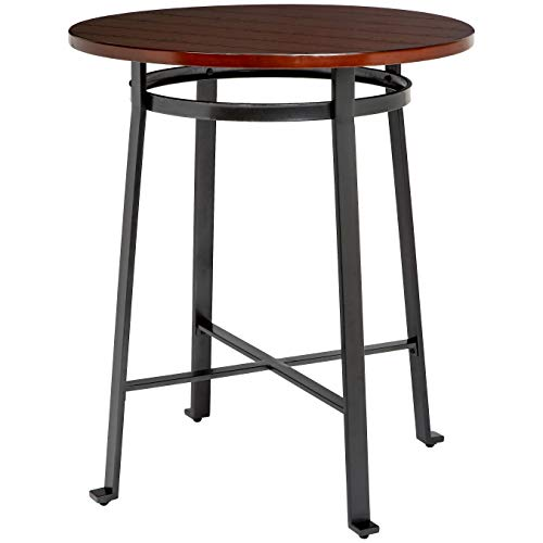 Ball & Cast HSA-1002T Bar Table, Rustic Brown (Stool Height For 42 Bar Bar Inch)