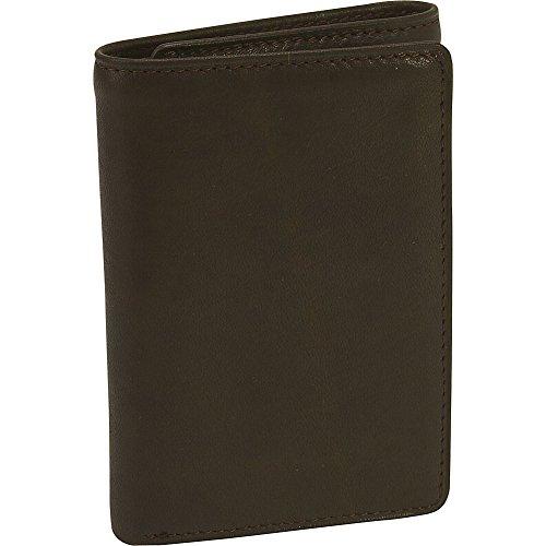 Osgoode Marley Cashmere ID Tri-Fold Wallet (Mocha)