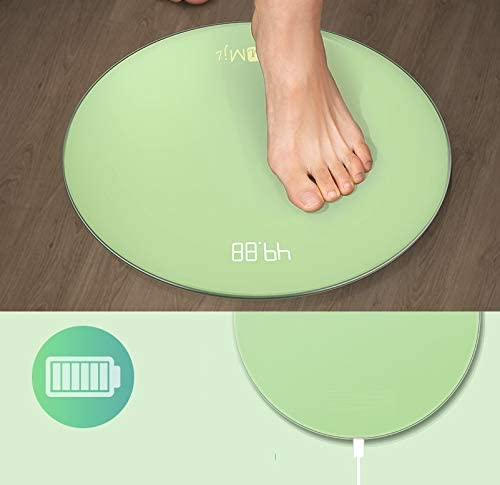 Yuen Electronic weight scale/body fat scale/home accurate human body weighing/small and durable smart fat measuring scale(Green) Blue