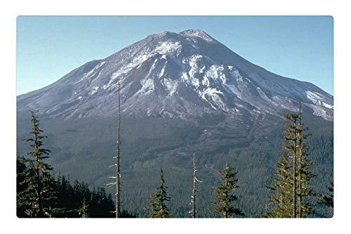 Tree26 Indoor Floor Rug/Mat (23.6 x 15.7 Inch) - Mount St Helens Volcano Mountain St Helens ()