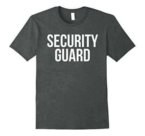 Mens Security Guard Shirt Funny Halloween Costume 2XL Dark (Security Guard Costume Male)