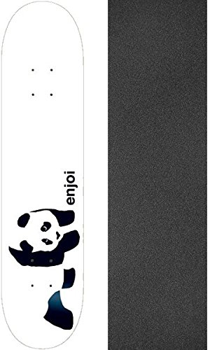 (Enjoi Skateboards Whitey Panda Skateboard Deck Resin 7-8