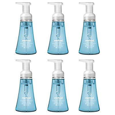 Method Foaming Hand Soap, Sea Minerals, 10 Ounce (Pack 6)