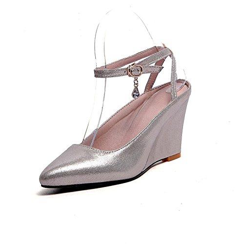 ZHZNVX Chaussures Femmes de Printemps en Simili Cuir d'