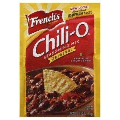 Frenchs Chili Mix 1.75 Oz-6 packets (Chili Seasoning Packet Mix)