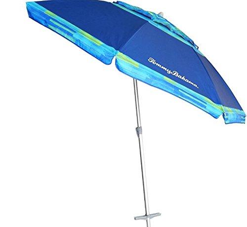 Amazon Com Tommy Bahama Rokpack Sand Anchor 7 Feet Beach Umbrella