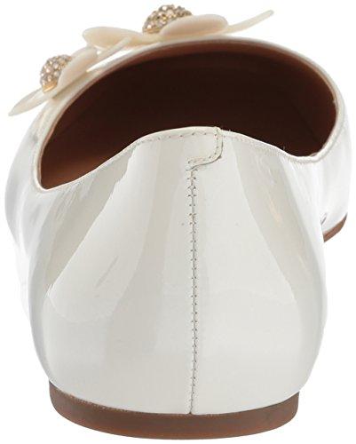 ... Marc Jacobs Kvinners Daisy Ballerina Ballett Flat White ...