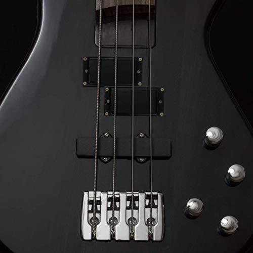 FOXNOVO Professional Sealed Humbucker Pickups Set for Gibson Epiphone Les Paul Guitars (Black)