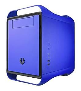 BitFenix Prodigy - Caja de ordenador (De plástico, Acero, Fondo, 1x 120 mm, 120, 140, 180, 200, 230 mm, 1x 120 mm, 250 mm) Azul