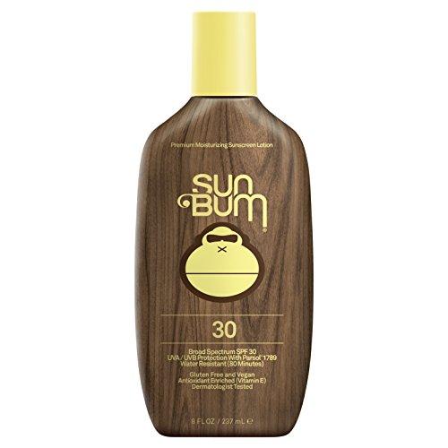 Sun Bum Moisturizing Sunscreen Lotion, SPF 30, 8oz Bottle, Oil Free, Hypoallergenic, Packaging May Vary