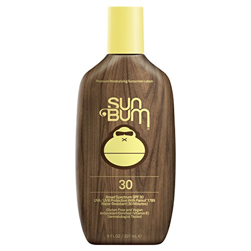 Sun Bum Moisturizing Sunscreen Lotion, SPF 30, 8oz Bottle, Oil Free, Hypoallergenic, Packaging May - Ski Surf Sun