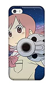 New Snap-on CaseyKBrown Skin Case Cover Compatible With Iphone 5/5s- Nichijou