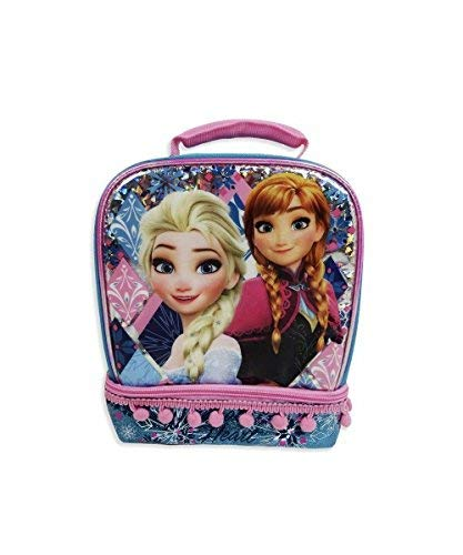 Disney Frozen Lunch Bag Insulated Dual Compartment (Disney Frozen Lunch Box)