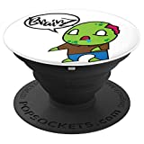 Zombie Boy PopSockets Grip and Stand for Phones and Tablets