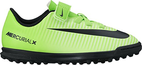 Nike Jr Mercurialx Vortex 3 (V) Tf - electric green/black-flash lim