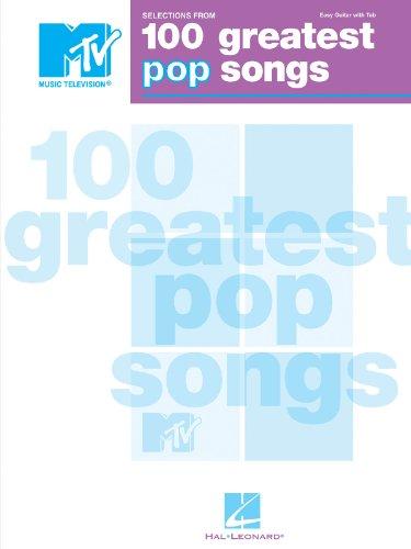 s 100 Greatest Pop Songs - P/V/G (Mtvs 100 Greatest Pop)