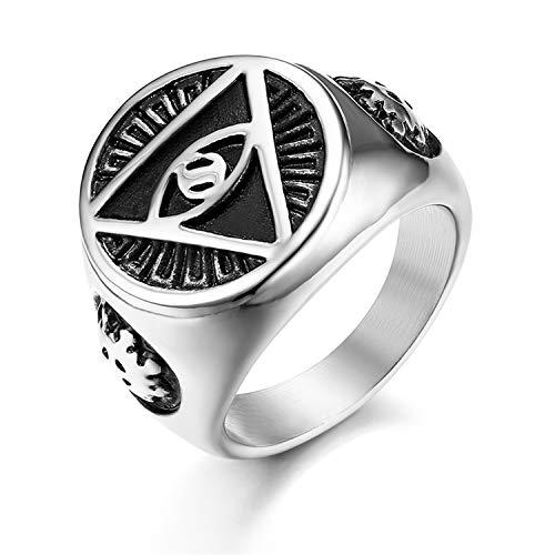 JewelryWe Retro Herren-Ring