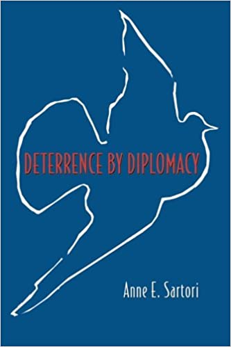 deterrence by diplomacy sartori anne e