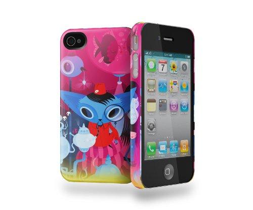 Cygnett CYGC0671CPICO iPhone 4/4S ICON Nathan Jurevicius TEA
