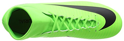 Nike Mercurial Victory VI DF FG, Scarpe da Calcio Uomo Verde (Electric Green/Flash Lime/White/Black)