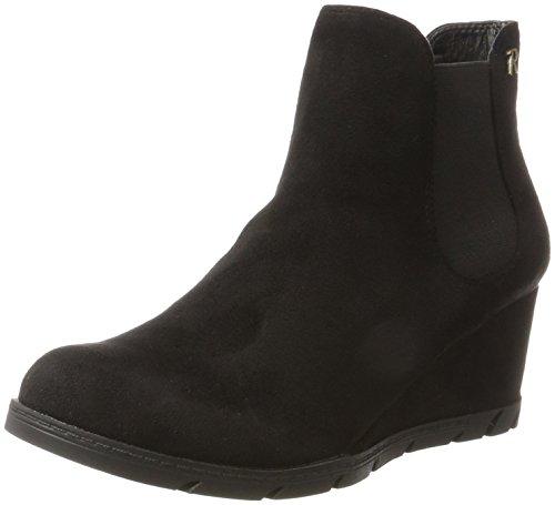 XTI Black Schwarz Damen 063701 Chelsea Boots q10qwfr