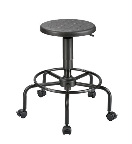 Alera Plus Ss600 Ss Series Sit Stand Adjustable Stool Black