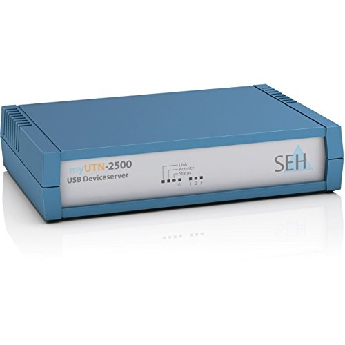 Seh M05082 Myutn-2500 - Device Server - 10/100 MB LAN, Gige, Superspeed USB3.0 by SEH