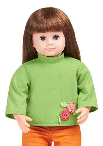 Ask Amy 22  Talking Interactive Singing Storytelling Smart Educational Doll Brunette Green Shirt