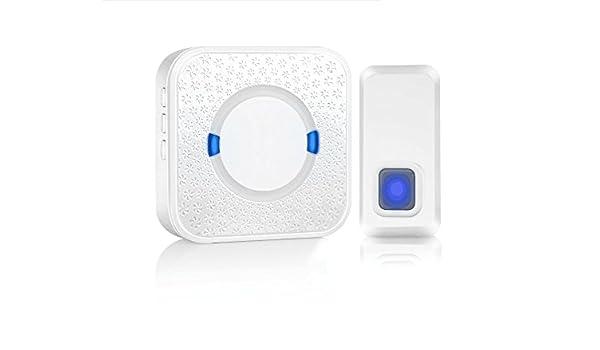 1000ft Long Range Door Chime Kit Wireless Doorbell IP55 Waterproof Plug-in