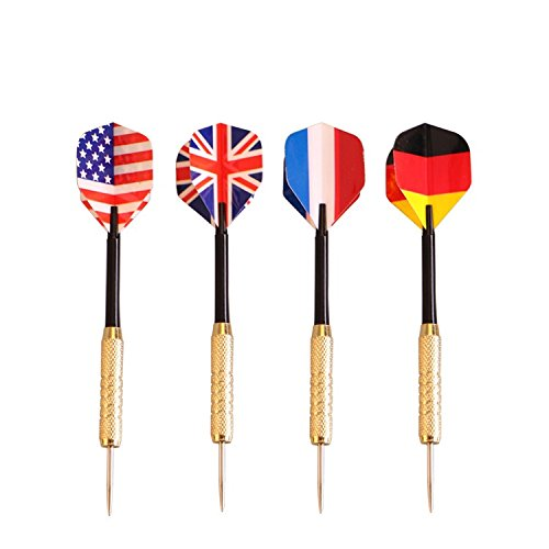 Uk National Costume For Kids (Darts With Nice National Flag 4pcs In Door Games Skillful Adult Game Designed Metal Leads And Plastic Body)