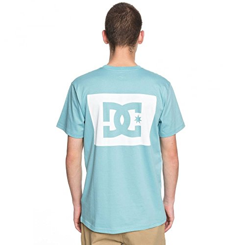 DC T-Shirt Stage Bos SS Blu/Bianco Formato: L (Large)