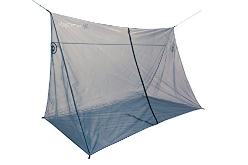 Kijaro Hammock Bug Mosquito Jungle Net with No-See Um Mesh for 360-Degree Protection, Quick Easy Setup (Best Places Camp Oregon Coast)