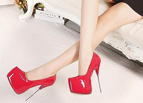 tacchi la cm rosso 16 delle per 1 scarpe con alti fase scarpe tOCxcqHxw7